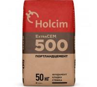 """Цемент Holcim """"Экстра"""" М-500, 50кг"""