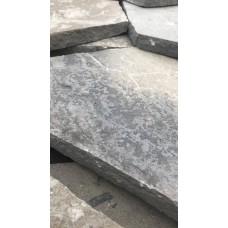 Камень-пластушка серо-зеленый, тонкий