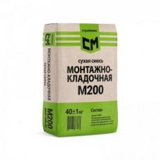 Сухая смесь кладочная М-200, 40кг