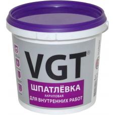 """Шпатлевка акриловая для внутр.работ """"ВГТ"""", 1,7кг"""