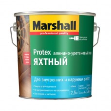 """Лак яхтный """"Marshall Protex Yat"""" глянцевый, 2,5л"""