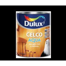 """Лак д/стен и потолков """"Dulux Celco aqua 10"""" матовый, 1л"""