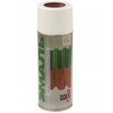 """Аэрозольная  эмаль для металлочерепицы """"Kudo"""", коричневая, 520 мл"""