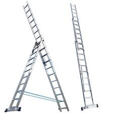 Лестница 3-х секц. 224*363*504см-8ступ.