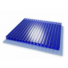Поликарбонат 4мм-2,1*6м, цвет- синий