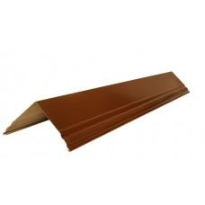 Конек 15*200см, цвет- коричневый