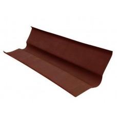 Ендова на ондулин, 100 см, цвет - коричневый