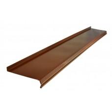 Отлив 14*150см, цвет- коричневый