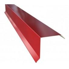 Планка фронтона 20*80мм, 2м, цвет- вишня