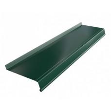Отлив 14*150см, цвет- темно-зеленый