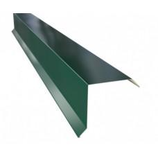 Планка фронтона 20*80мм, 2м, цвет- темно-зеленый