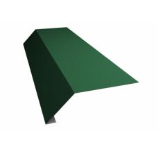 Капельник 100*70*10мм, 2м, цвет- темно-зеленый
