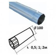 Труба оцинкованная d=100, 0,5м