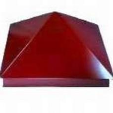 Зонт на столб 39*39 см, цвет- вишня