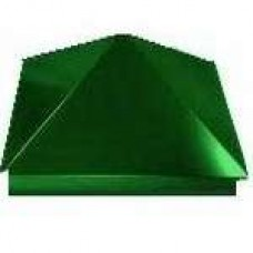Зонт на столб 39*39 см, цвет- темно-зеленый