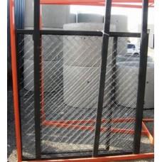 Ворота с рабицей + калитка h-1,8м