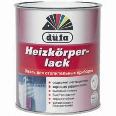 """Эмаль д/отоп.приборов """"Dufa Heizkorperlach"""", 0,75л"""