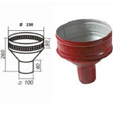 Воронка водосборная d=100, вишня
