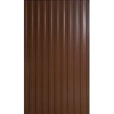 Профнастил С-8, 120*200см, цвет- коричневый (0,40)