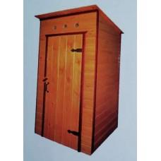 Туалет дачный ТД-1,1 (односкатный)