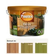 """Антисептик """"Пинотекс FOCUS"""", зеленый лес, 5л"""