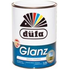 """Эмаль """"Dufa Retail"""" GLANZ, глянцев. белая, 2,5л"""