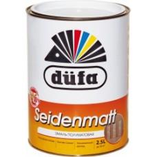 """Эмаль """"Dufa Retail"""" SEIDENMATT, п/матов. белая, 2,5л"""