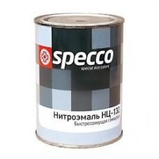 """Эмаль НЦ-132КП """"Specco"""" черная, 0,8кг"""