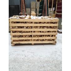 Дрова березовые колотые (палет), 1,5м3