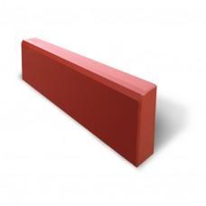 Бордюр 1000*220*75мм (красный)