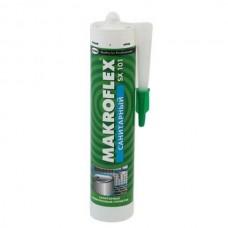 """Герметик """"Makroflex"""" санитарный, белый, 290мл"""
