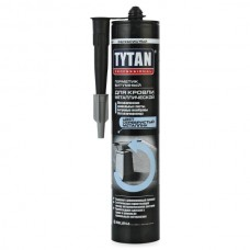 """Герметик """"Tytan"""" битумный для метал.кровли, серебристый, 310мл"""