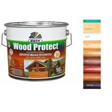 """Антисептик """"Wood Protect"""", цвет - белый, 10л"""