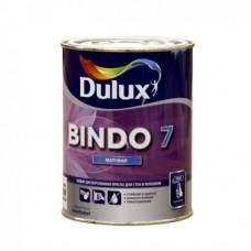 """Краска для стен и потолков """"Dulux Bindo 7"""" база BW, 1л"""