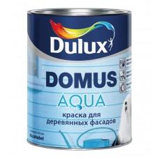 "Краска для дерев. фасадов Dulux ""Domus Aqua"" база BW, 1л"