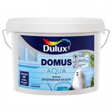 "Краска для дерев. фасадов Dulux ""Domus Aqua"" база BW, 2,5л"