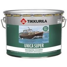 """Лак уретано-алкидный """"Tikkurila Unica Super"""" глянцевый, 9л"""